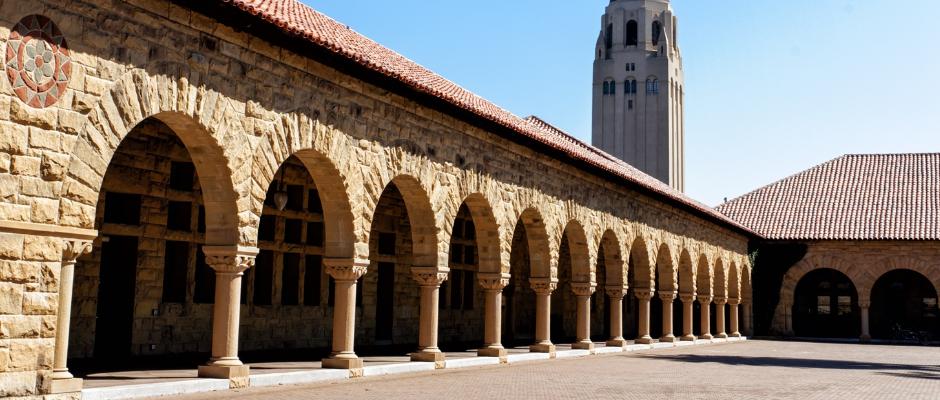 斯坦福大学全景图片