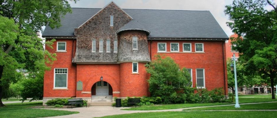 密歇根州立大学全景图片