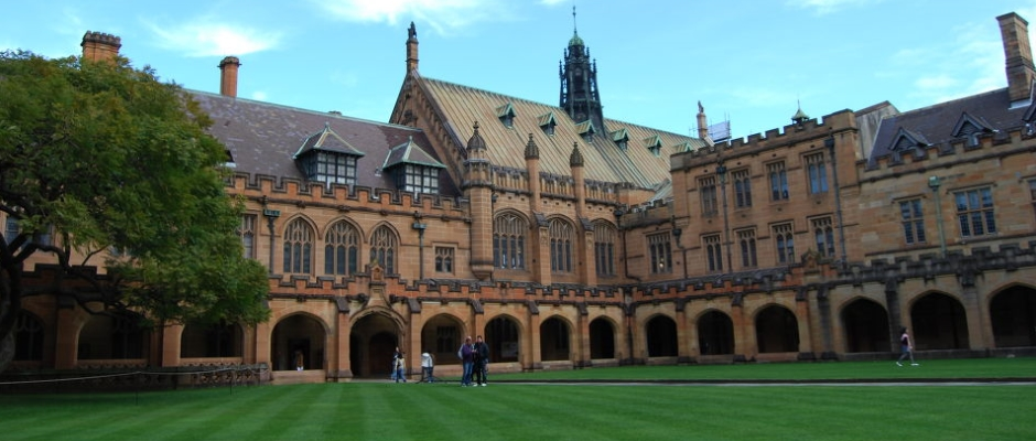 悉尼大学全景图片