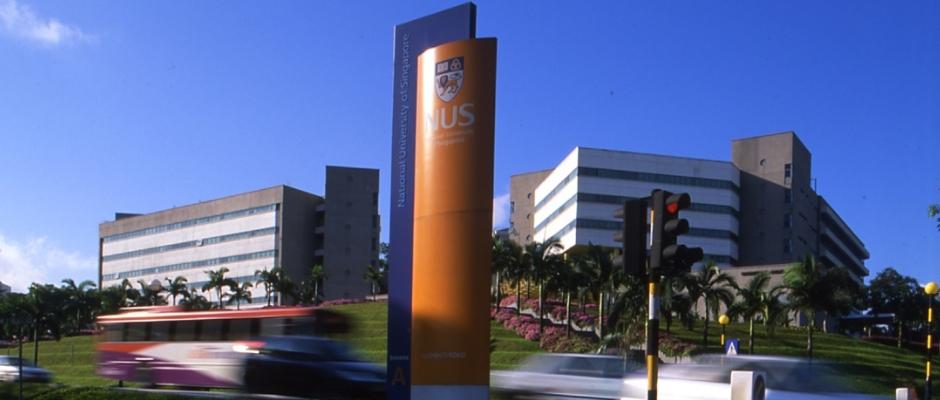 新加坡国立大学全景图片