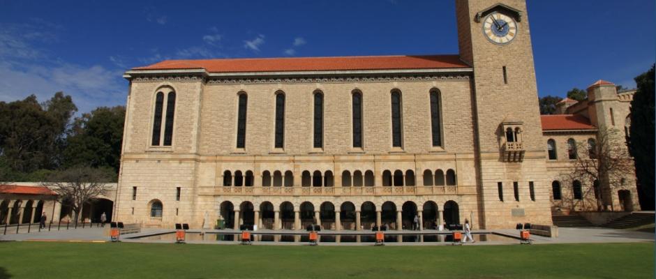 西澳大利亚大学全景图片