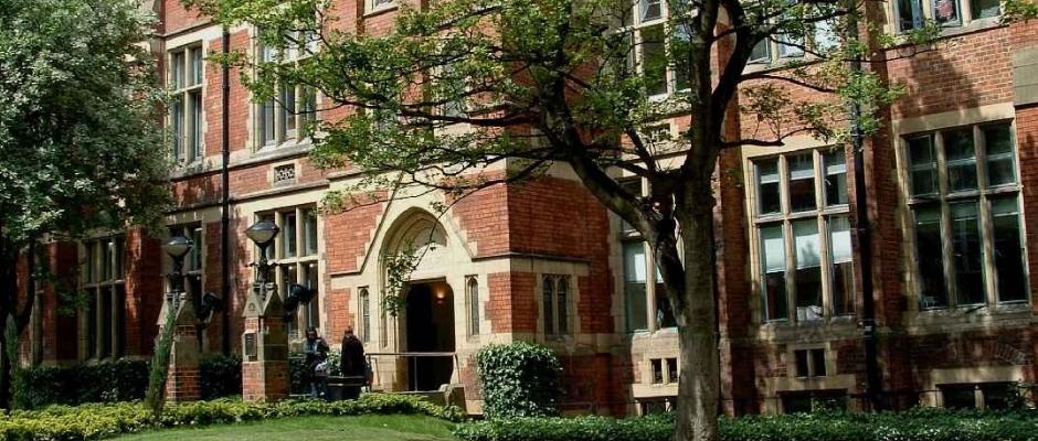 利兹大学全景图片