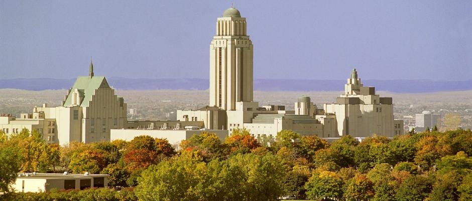 蒙特利尔大学全景图片