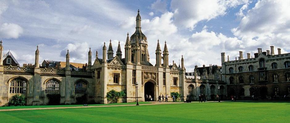 剑桥大学全景图片