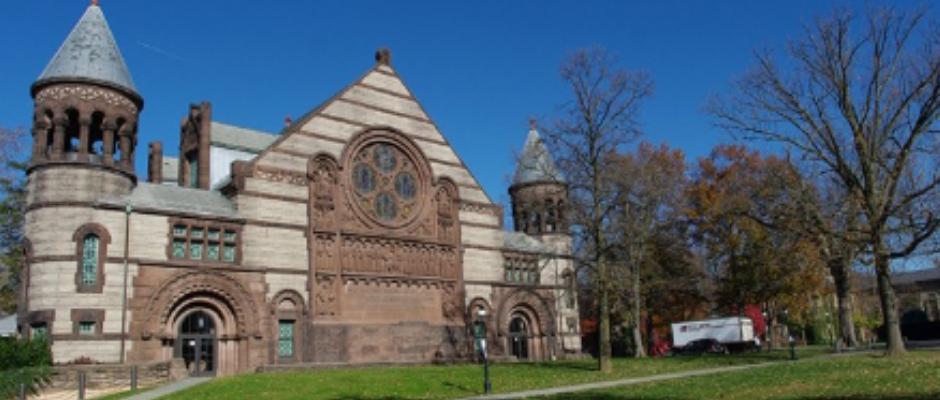 普林斯顿大学全景图片