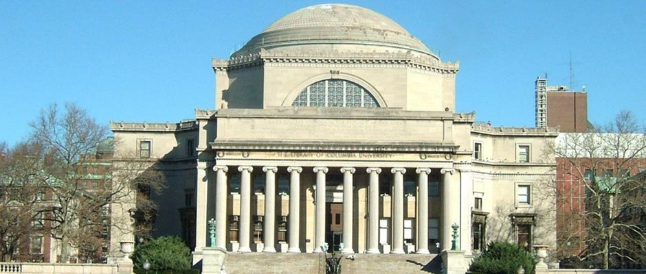 哥伦比亚大学全景图片