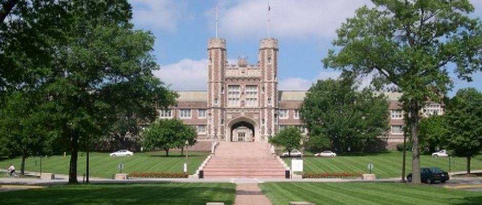 华盛顿大学西雅图分校全景图片