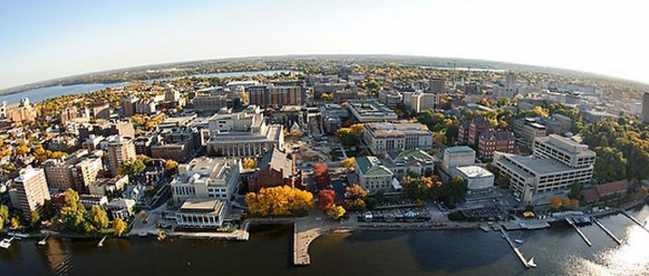 威斯康星大学麦迪逊分校全景图片