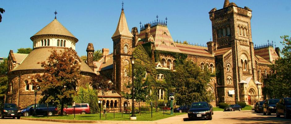 多伦多大学全景图片