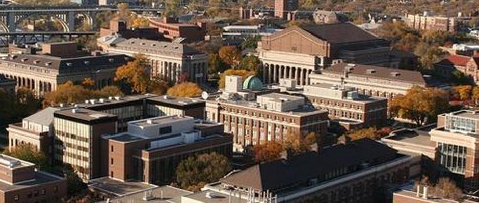 明尼苏达大学双城分校全景图片