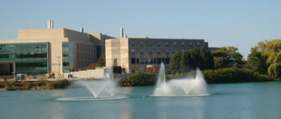西北大学全景图片