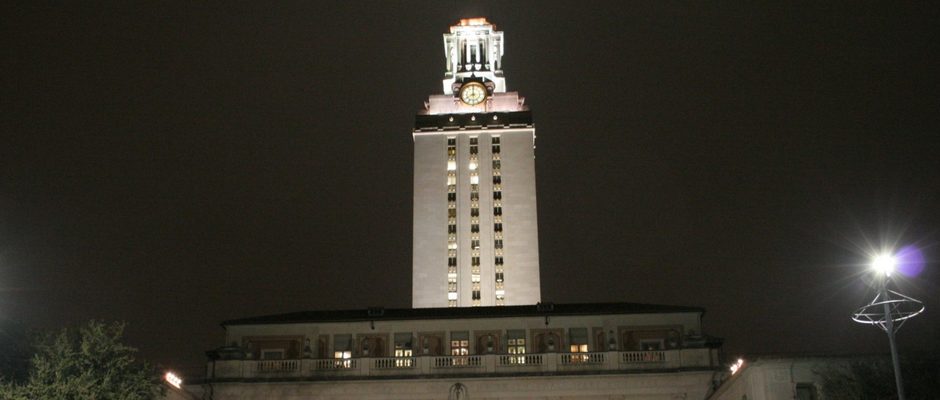 德克萨斯大学奥斯汀分校全景图片