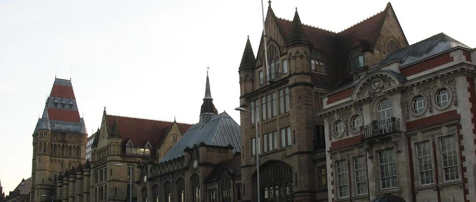 曼彻斯特大学全景图片