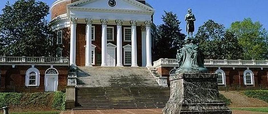 弗吉尼亚大学全景图片