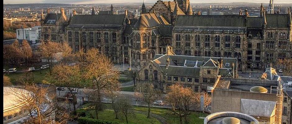 格拉斯哥大学全景图片