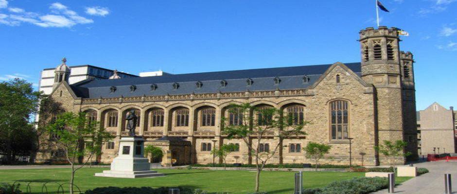 阿德雷德大学全景图片