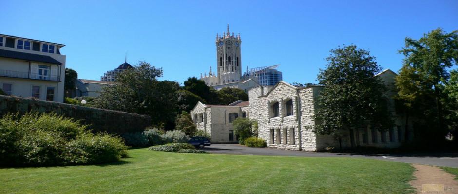 奥克兰大学全景图片
