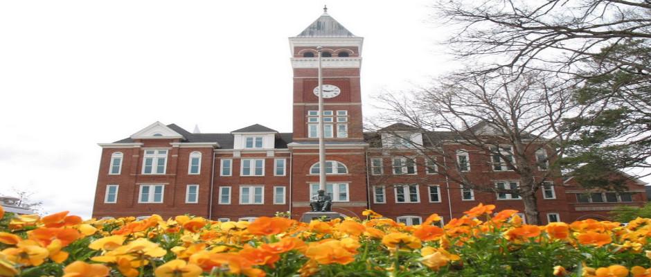 克莱姆森大学全景图片