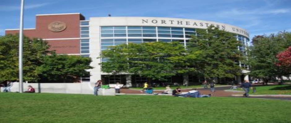 美国东北大学全景图片