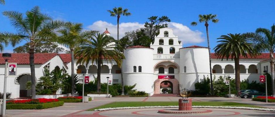 圣地亚哥州立大学全景图片