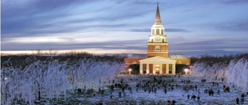 维克森林大学全景图片