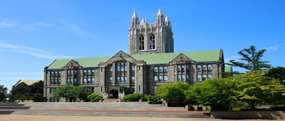 波士顿学院全景图片