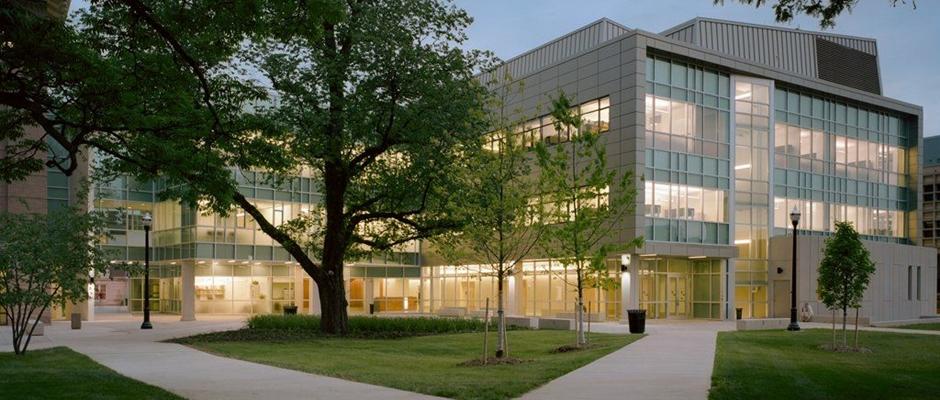 俄亥俄州立大学哥伦布分校全景图片