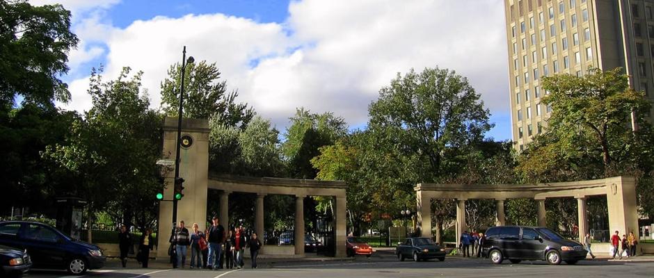 麦吉尔大学全景图片