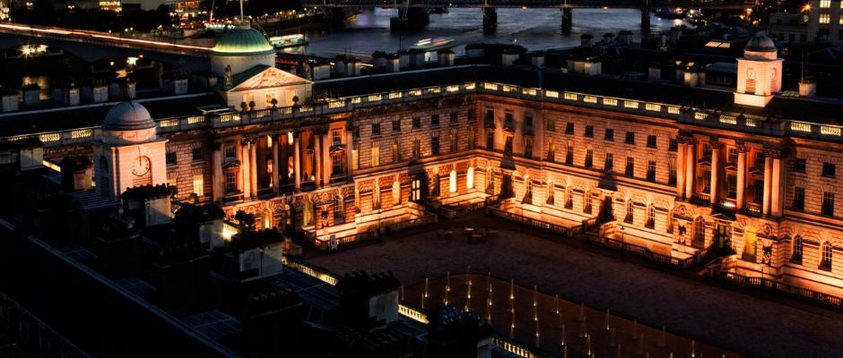 伦敦大学国王学院全景图片