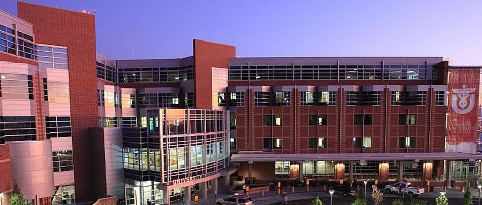 犹他大学全景图片