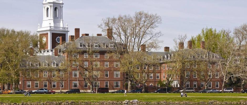 哈佛大学全景图片