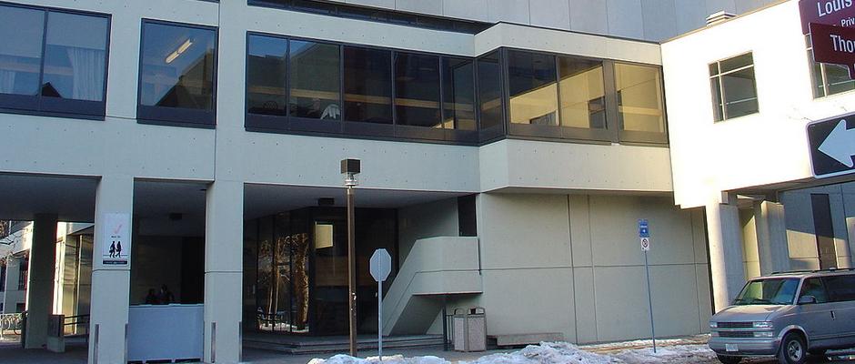 渥太华大学全景图片