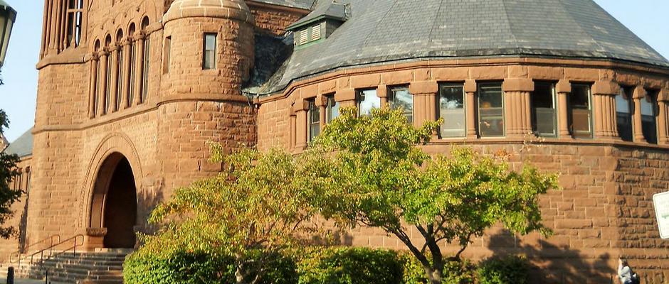 佛蒙特大学全景图片