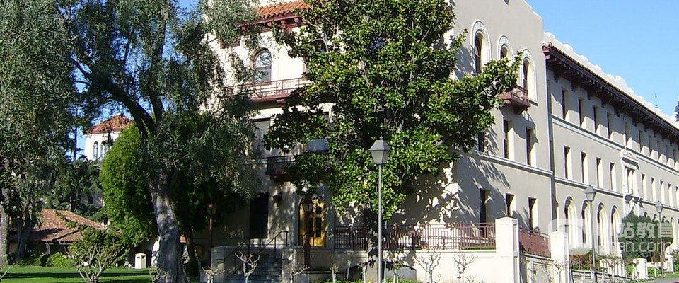 圣塔克拉拉大学全景图片
