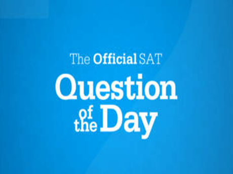 SAT备考官方APP推荐The Official SAT Question of the Day™ App