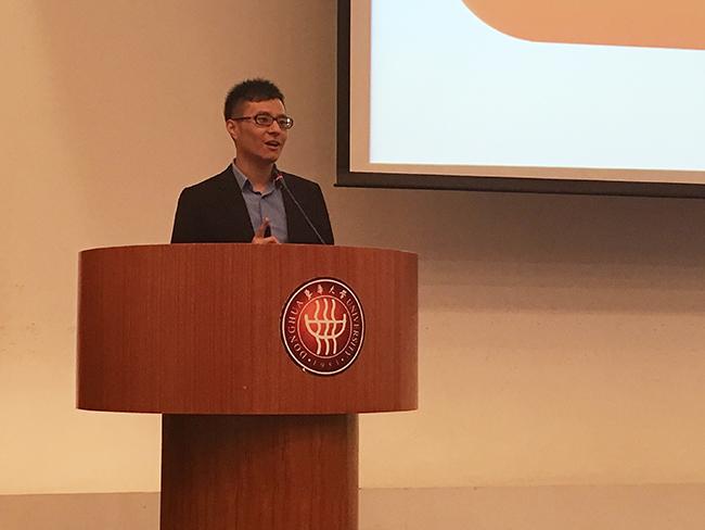 东华大学创业培训启动,小站教育CEO应邀演讲