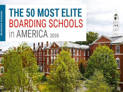 【Business Insider发布】低龄留学必看 TOP50最佳寄宿美高排名