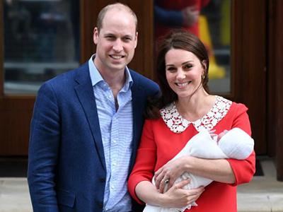 凯特王妃顺利产下男婴 第三胎小王子首亮相