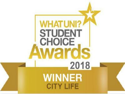 2018年度英国city life奖 你的学校上榜了吗