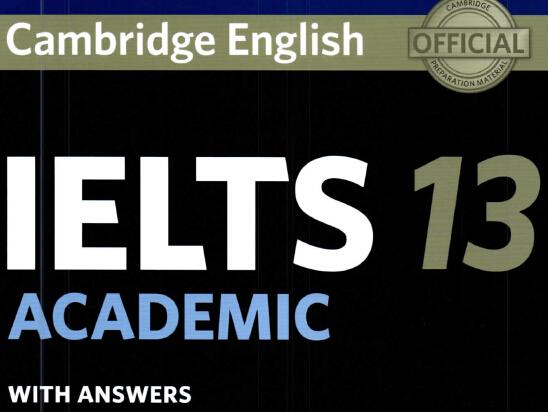 《剑桥雅思13》已上市疯抢中 教你正确打开方式