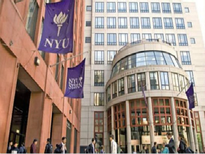 纽约大学2018毕业典礼 整个纽约都是紫色的!