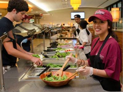 北美大学食堂哪家强 留学想找好伙食的别错过!