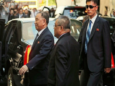 朝鲜高级官员访美 曾被美方制裁