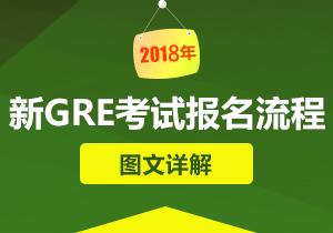 2018新GRE考试报名流程图文详解